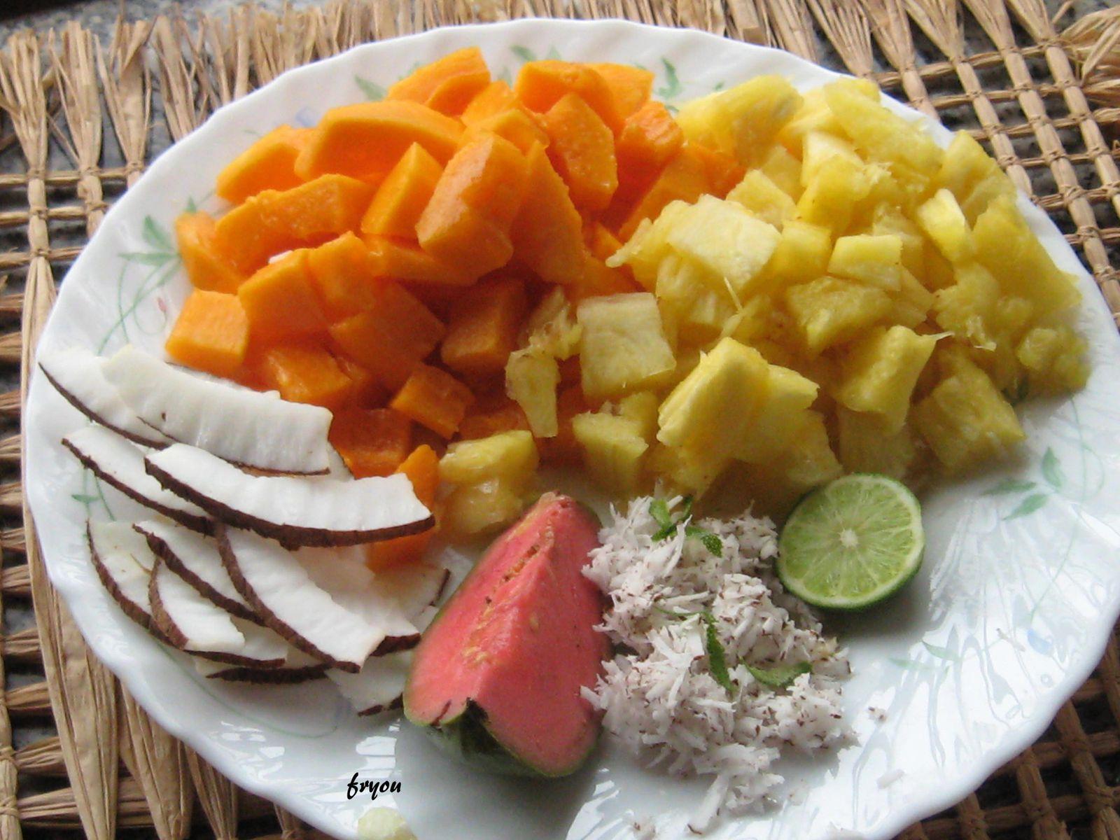 Album salades de fruits le blog de fryou - Salade de fruits maison ...