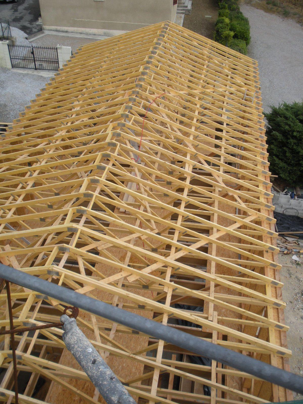 Plan charpente bois agricole obtenez des - Plan charpente bois gratuit ...