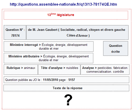 gaubert-question-11-05-2010