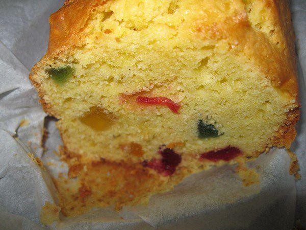 Mini Cake Aux Fruits Confits Marmiton