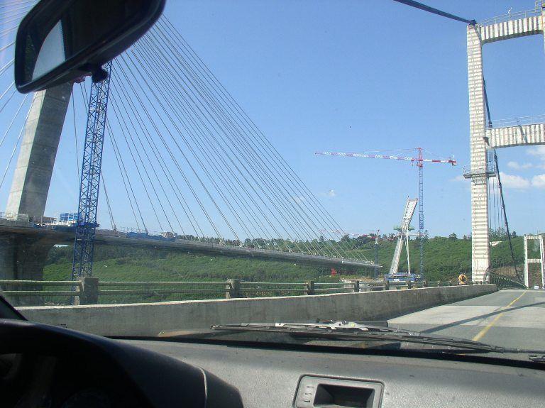 Le nouveaux Pont de Térénez en travaux (2)