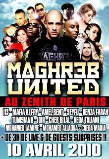 Affiche Maghreb United