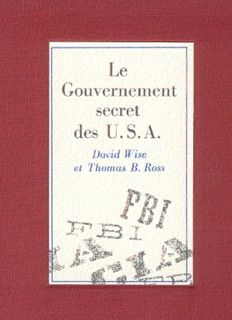 Le Gouvernement secret des USA