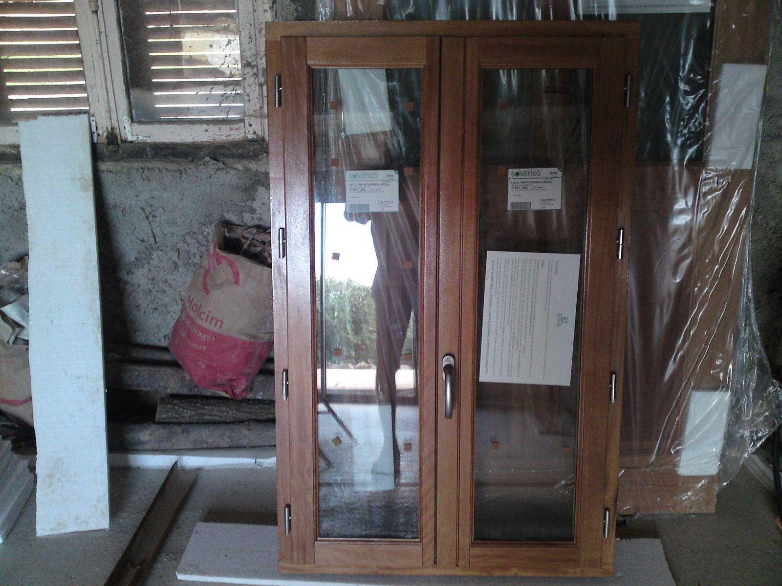 Ouverture porte de garage renovation d 39 une fermette en - Ouverture porte de garage ...