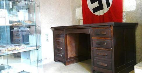 un bureau de la gestapo de poitiers au mus e de terc. Black Bedroom Furniture Sets. Home Design Ideas