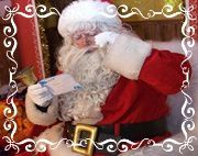 father christmas with letter