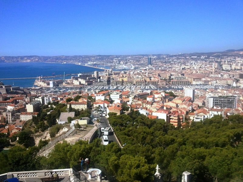 Marseille vue de haut perle is goudes for Table vue de haut