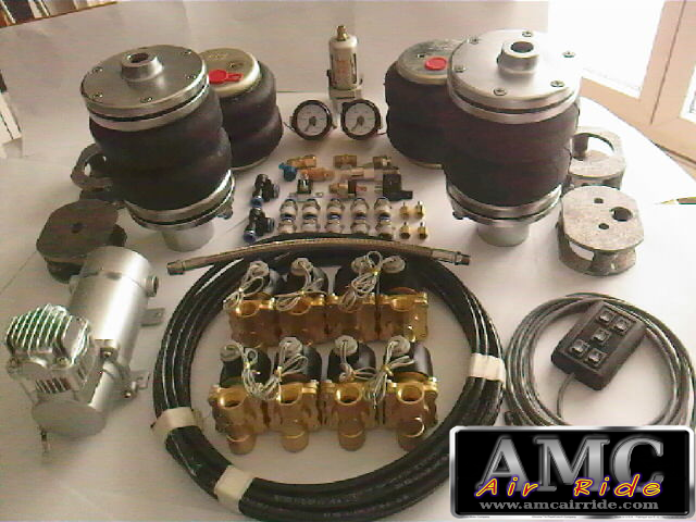 Kit suspension pneumatique universel