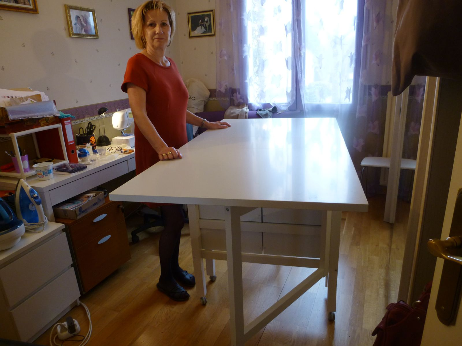 Table De Coupe Ikea Pliante Norden Ma Maman La Fee