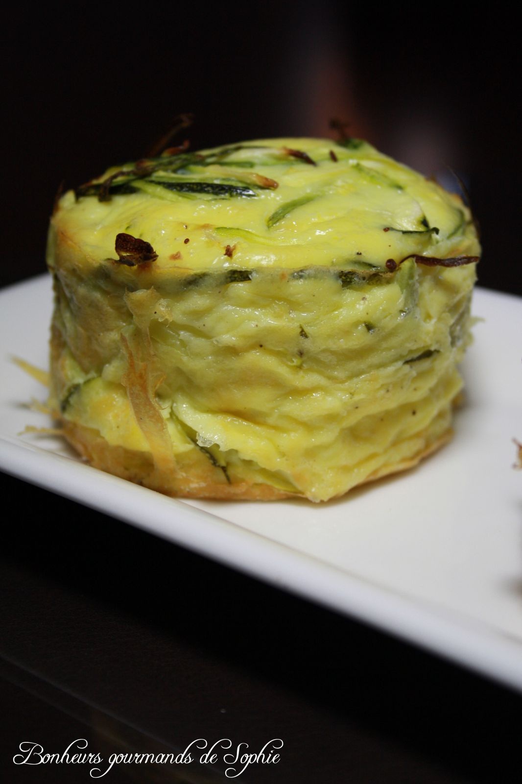 Cake Sophie Courgette Fromage Chevre