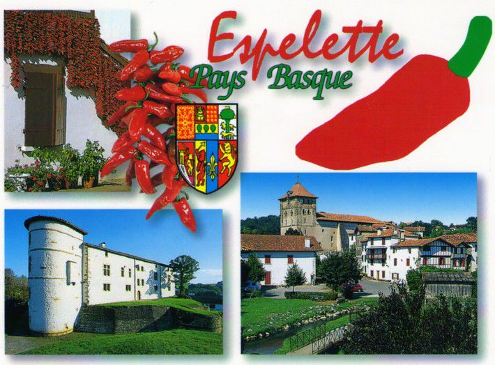 Pays-basque Espelette