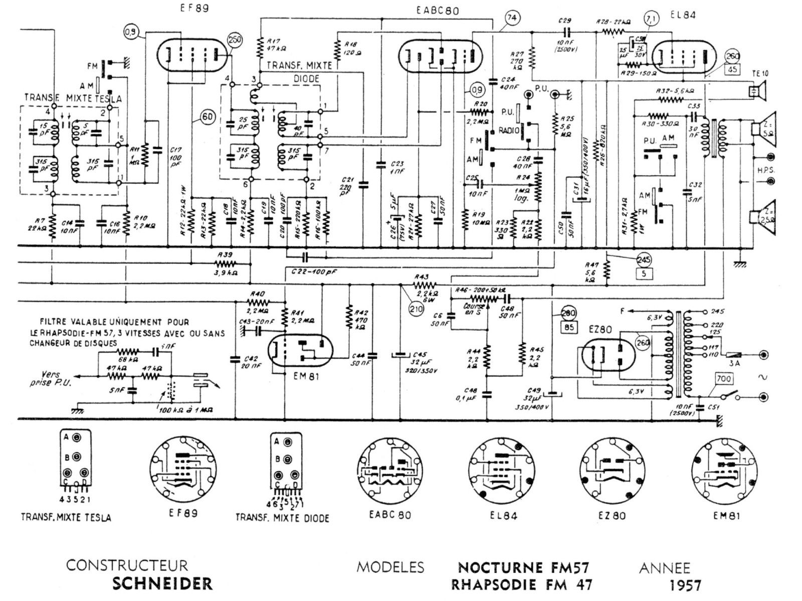 121987 Parafeeding Tetrode moreover 6n2p Tube Pre Tone Low Volt Low Cost additionally For beginners reading schematics circuit diagrams part 1 also Crystal Radio Kits likewise Qsl  lifier Tubes. on 2 tube radio schematic
