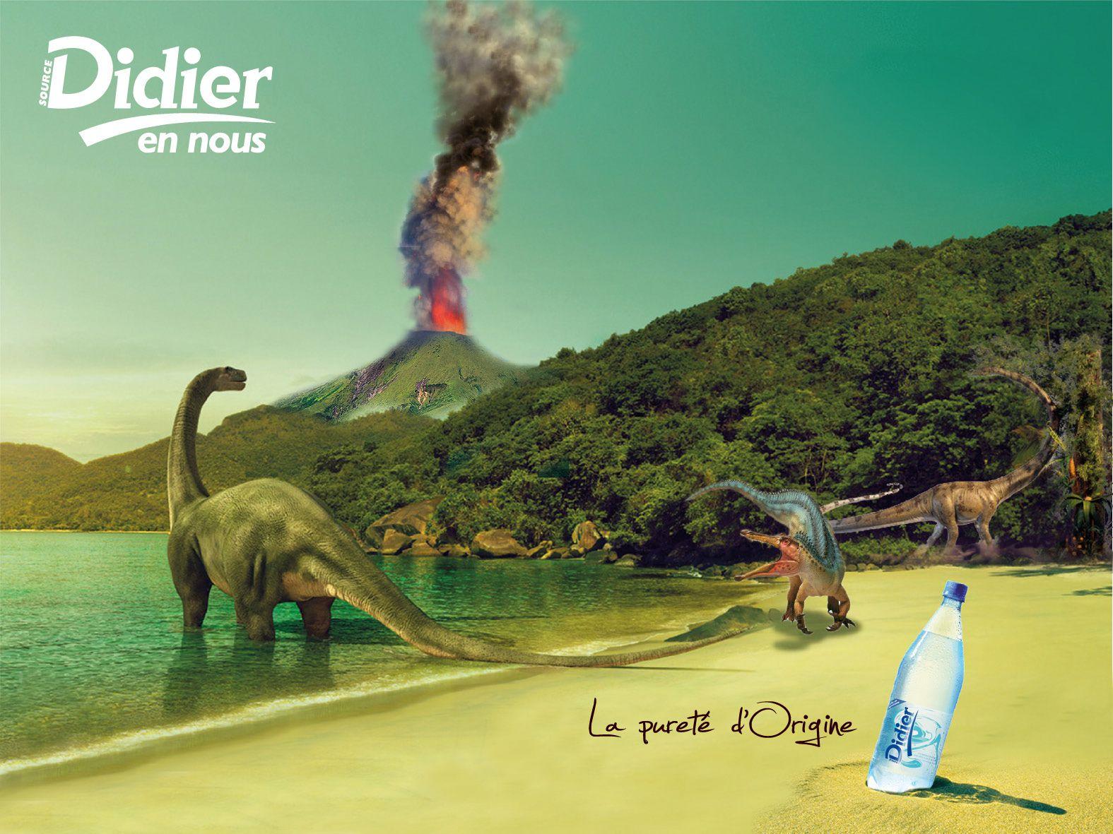 Affiche eau de source Didier