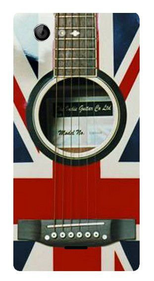 Coque UK guitar Xperia J