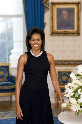 Mitchelle Obama Pearl