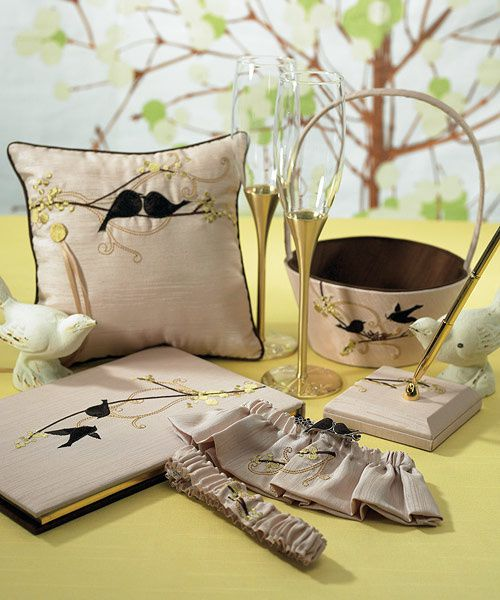 collection mariage oiseaux