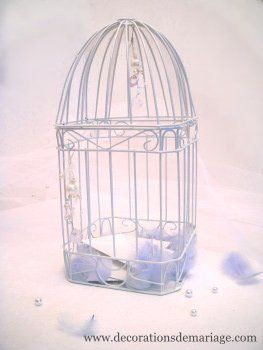 urne mariage cage