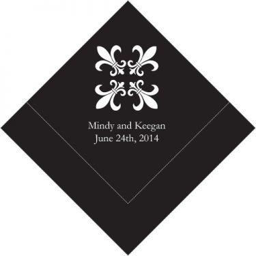 les-50-serviettes-personnalisees-fleur-de-lys