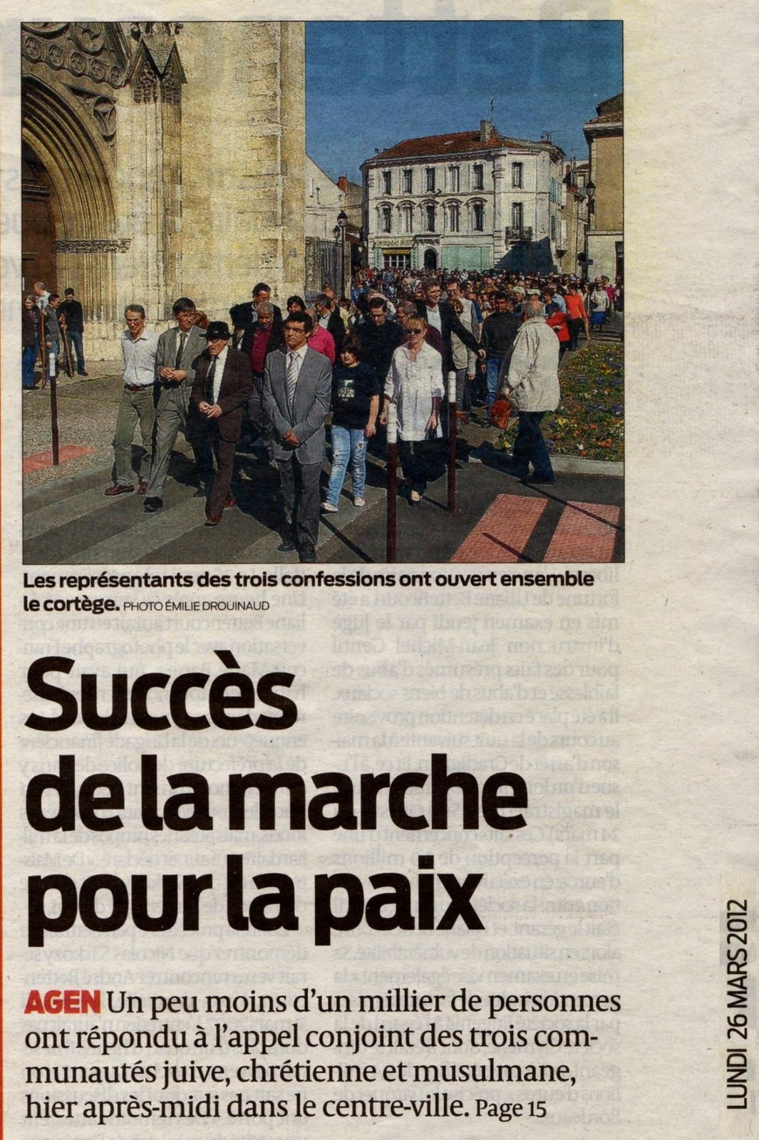 Sud-Ouest (26-03-2012)
