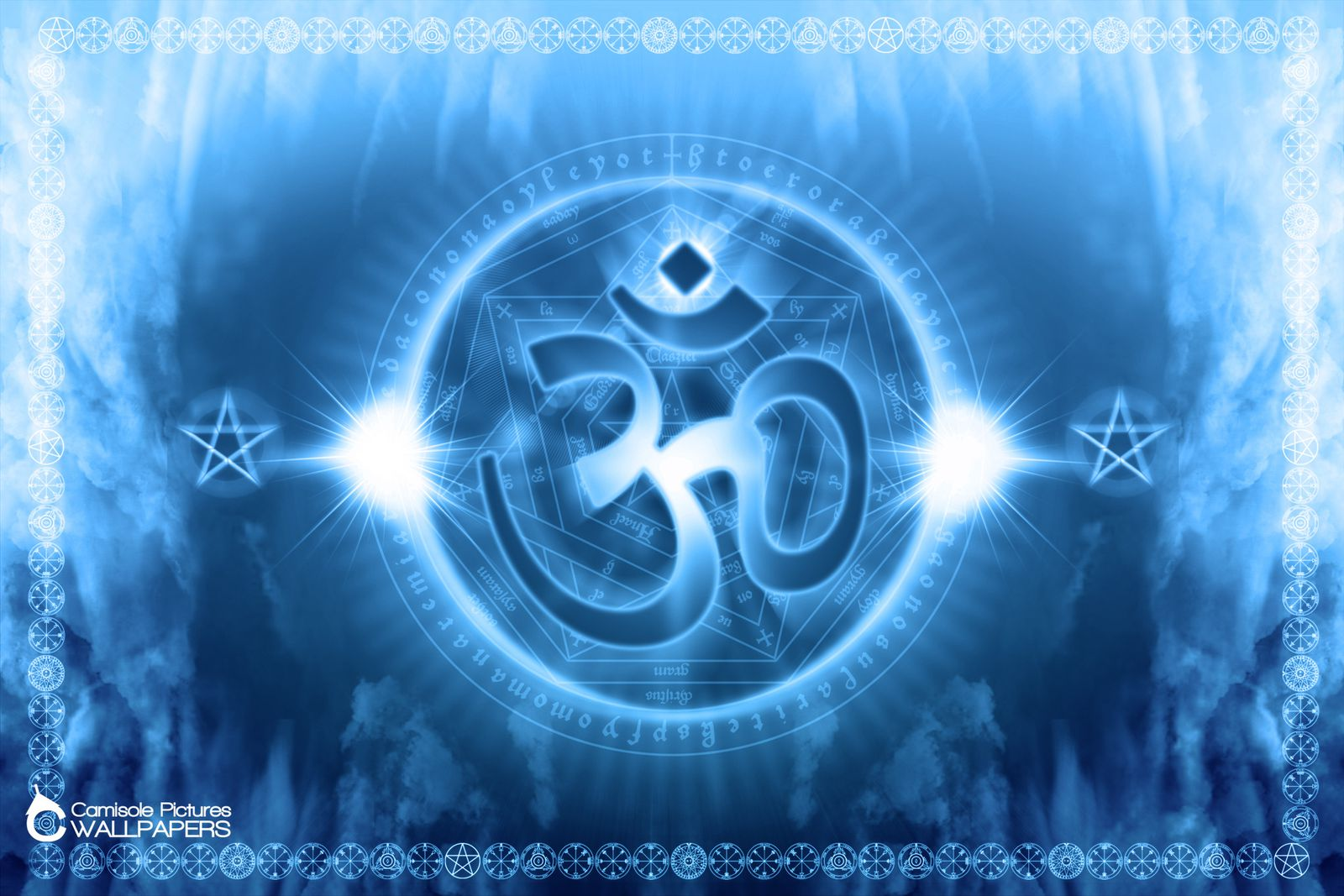 Pin Aum Wallpapers Om Pictures Hindu Symbols Hinduism