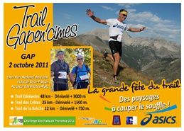 CTProvence2011 - trail gap en cimes