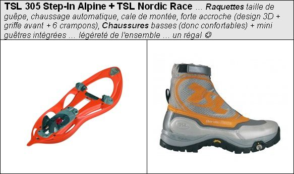 TSL 305 Step In Alpine