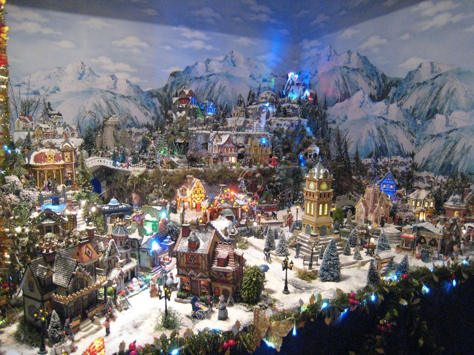 #867045 Decoration De Noel Village Miniature 6123 décoration de noel village lumineux 1600x1200 px @ aertt.com