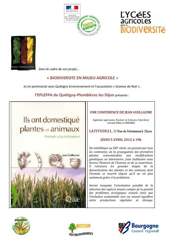 Conference J.GUILLAUME