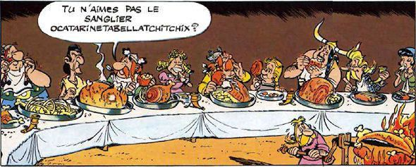 asterix sanglier