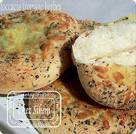 mini foccacia fromage herbes1
