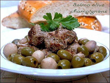 dolma olive champigon2