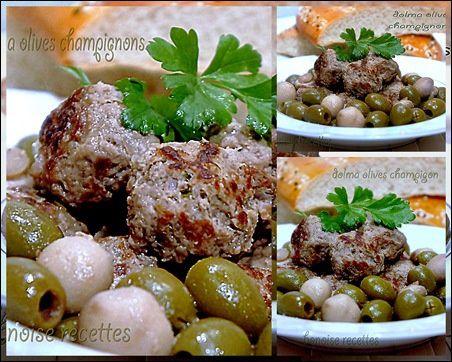 dolma olive champigon3