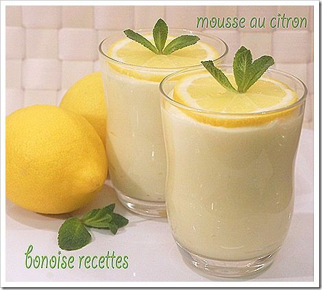 mousse au citron 3
