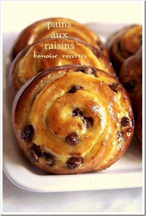 Pain Au Raisin Maison