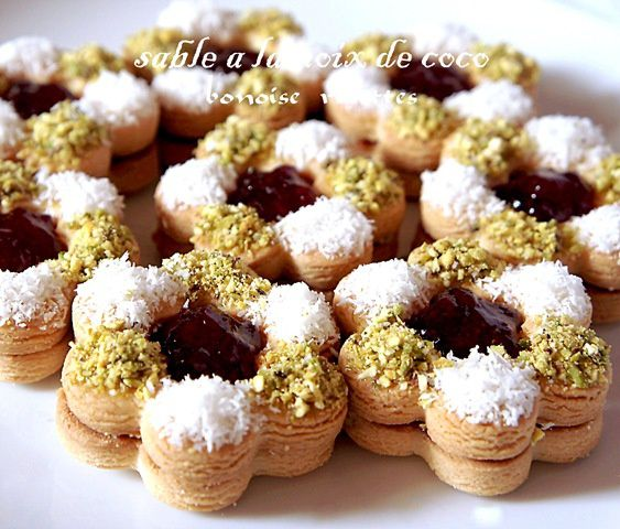 decoration gateau sec algerien