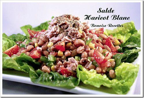 salade haricots blancs thon1