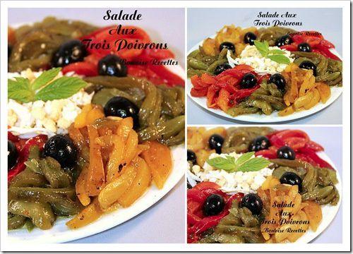 salade aux poivrons grillés1