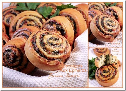 escargots aux epinards1