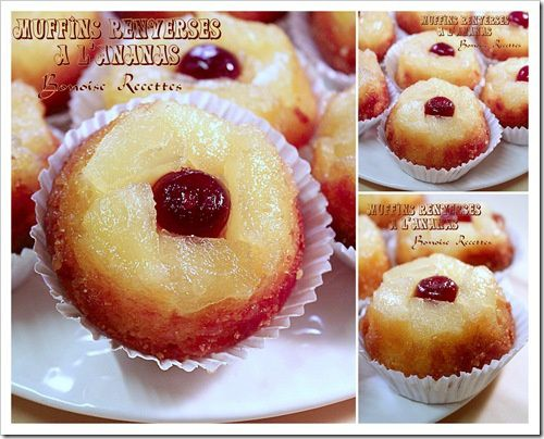 muffins aux ananas1
