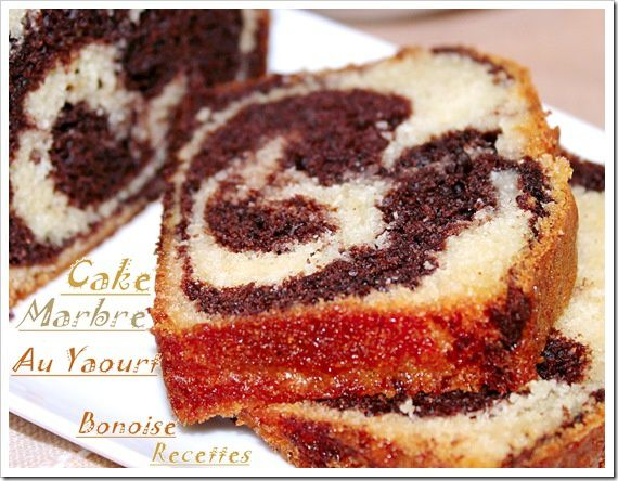 cake au yaourt marbre1