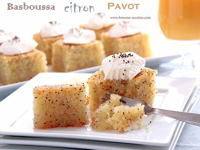 basboussa citron pavot7