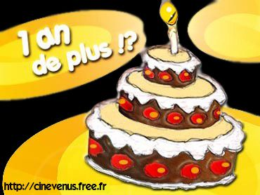 anniversaire un an cinevenu