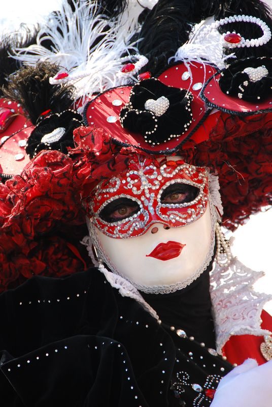Carnaval vénitien de Martigues (Les flâneries au miroir) par Paul & Martine