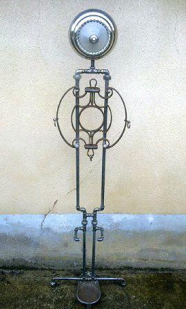 Lampadaire industriel - Création