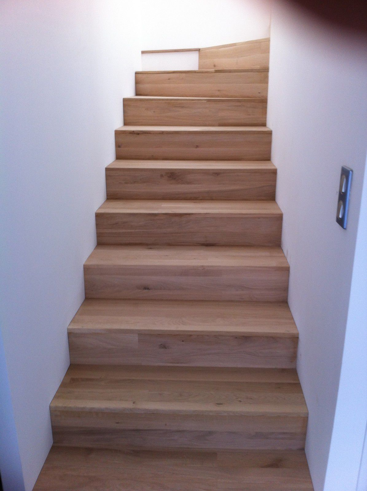 Album escalier beton chene menuiserie agencement design for Escalier beton design