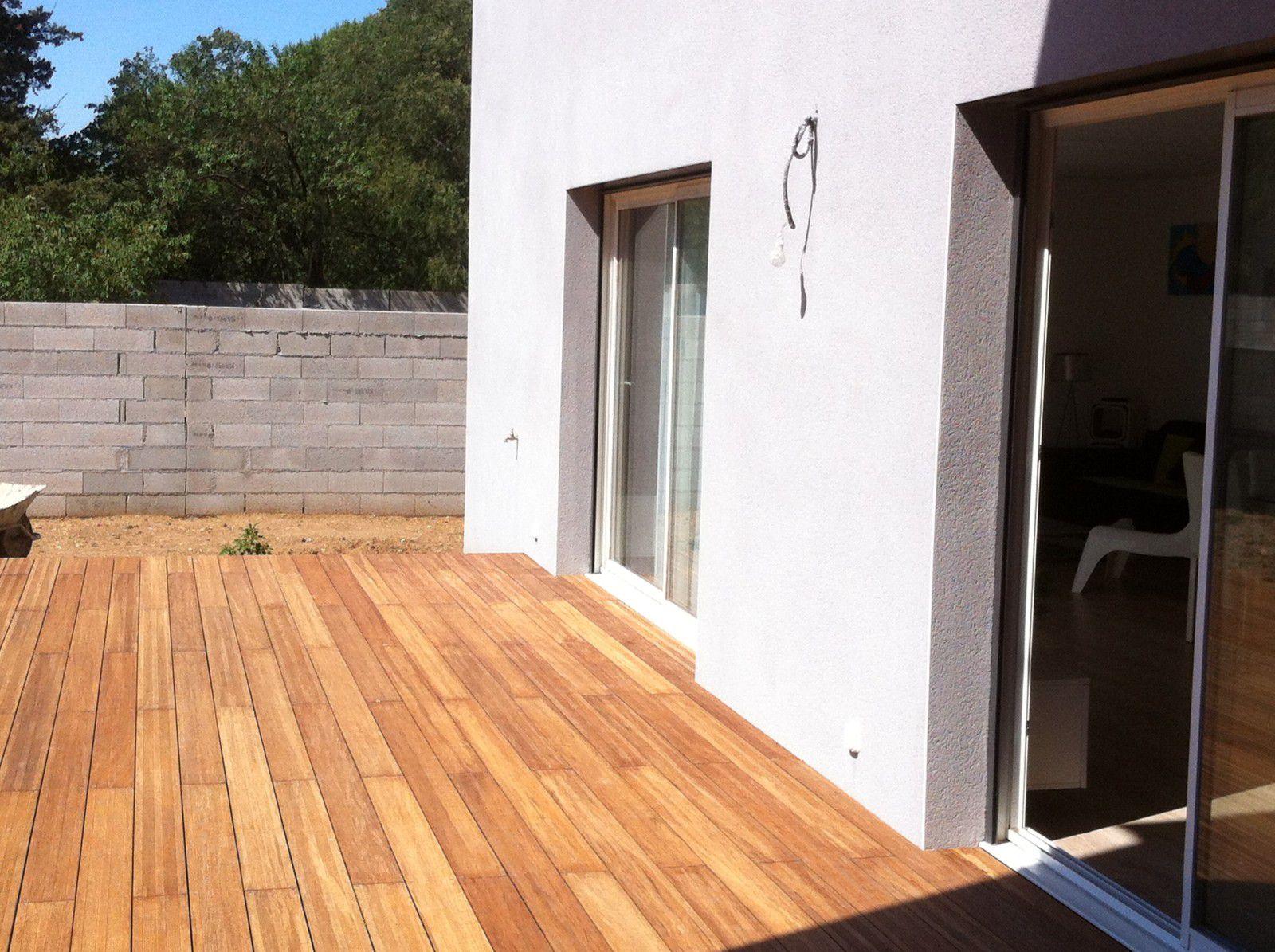 album terrasse en bambou menuiserie agencement design. Black Bedroom Furniture Sets. Home Design Ideas
