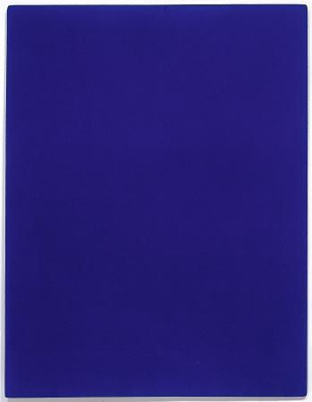 un artiste en bleu yves klein le blog de francois mantoux. Black Bedroom Furniture Sets. Home Design Ideas