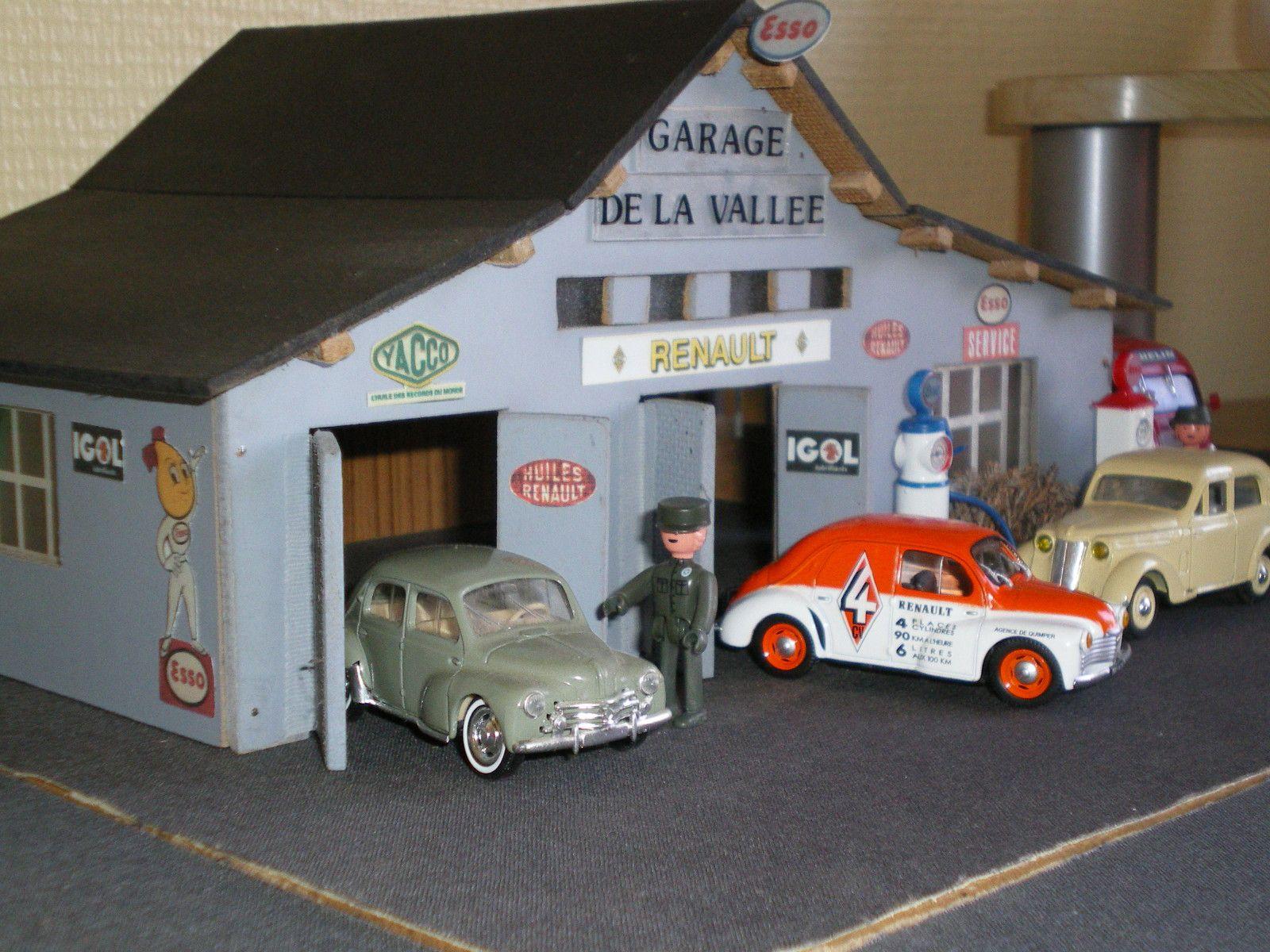album garage de la vall e 1950 maquettes de garages et stations service. Black Bedroom Furniture Sets. Home Design Ideas