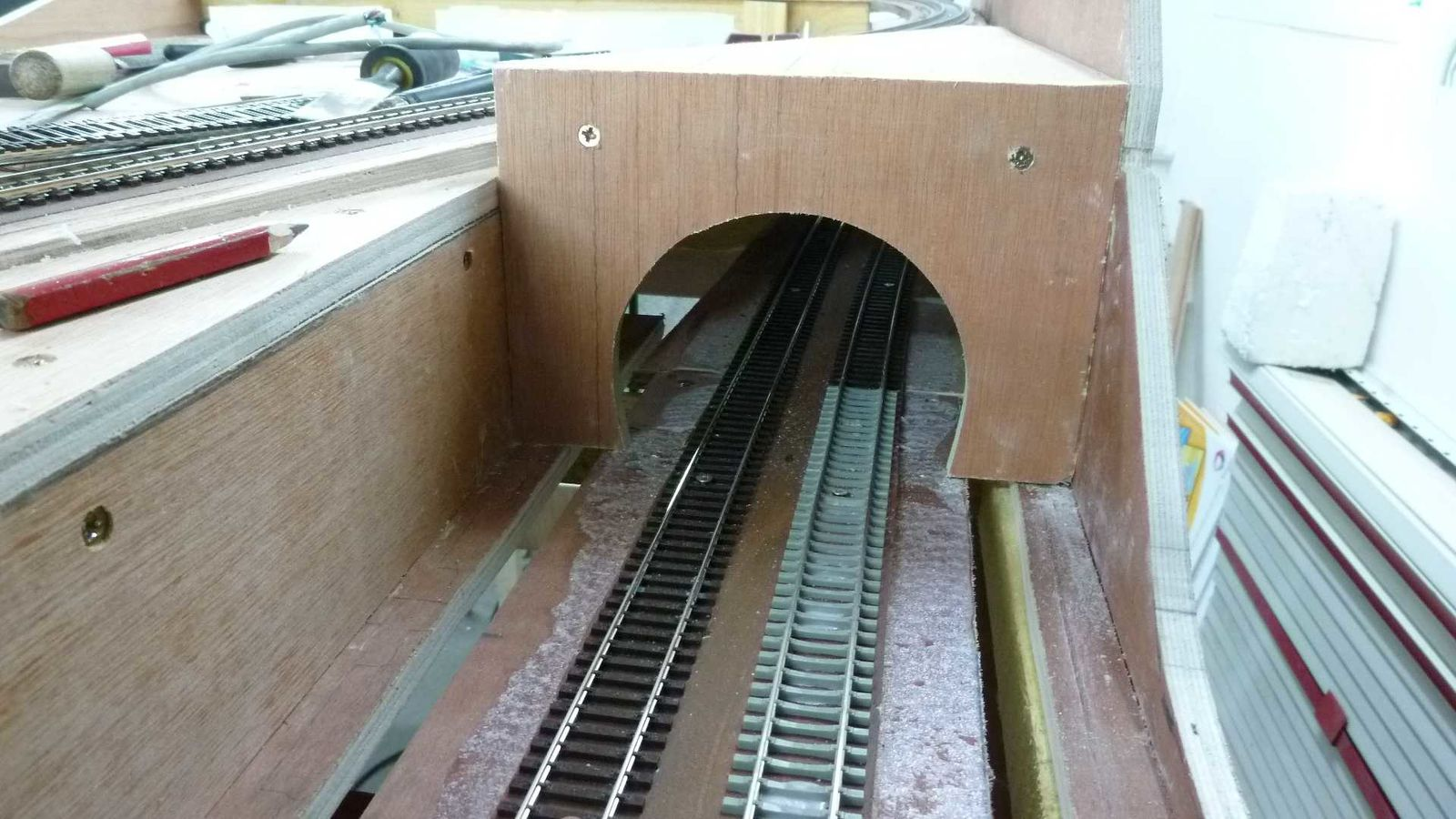 Club amfr romilly romilly trains for Construction de tunnel