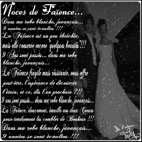 Mariage Blog 9 Ans De Mariage
